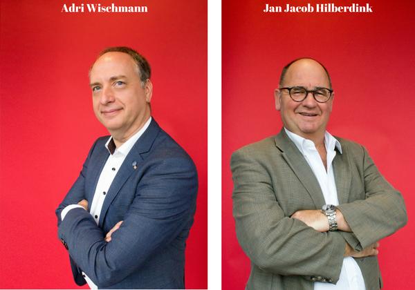 Adri Wischmann en Jan Jacob Hilberdink
